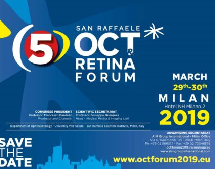 5° SAN RAFFAELE, OCT RETINA FORUM - Save the Date