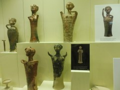 Ceremonial figures carried on sticks, 1350 B.C.
