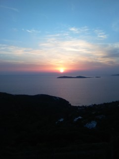 An Andros sunset