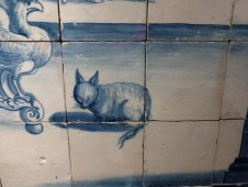 18th-century tile, National Azulejo Museum, Lisbon.