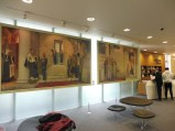 Murals by Cayler Robinson in the Wellcome Library, painted 1916-20