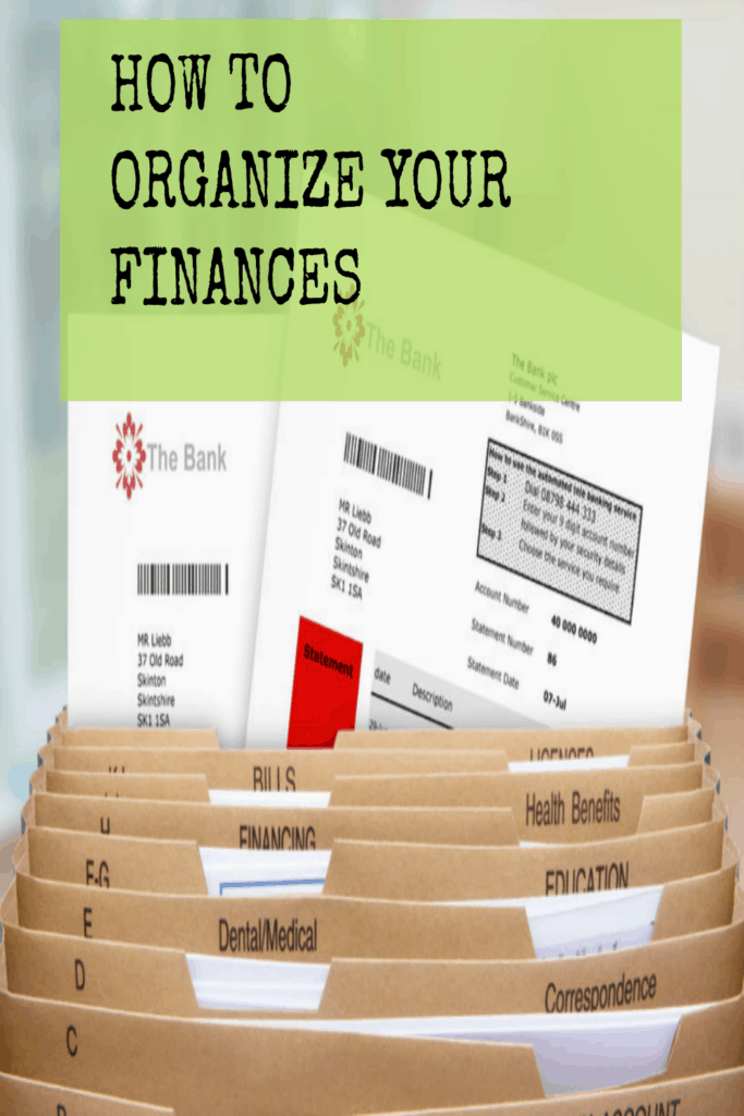 The Best Way To Organize Your Personal Finances