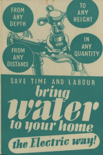 Bring Water to Your Home