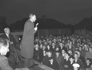 switch on at Blackwater Co. Wexford 1955
