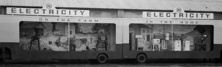 Mobile demonstration, 1951