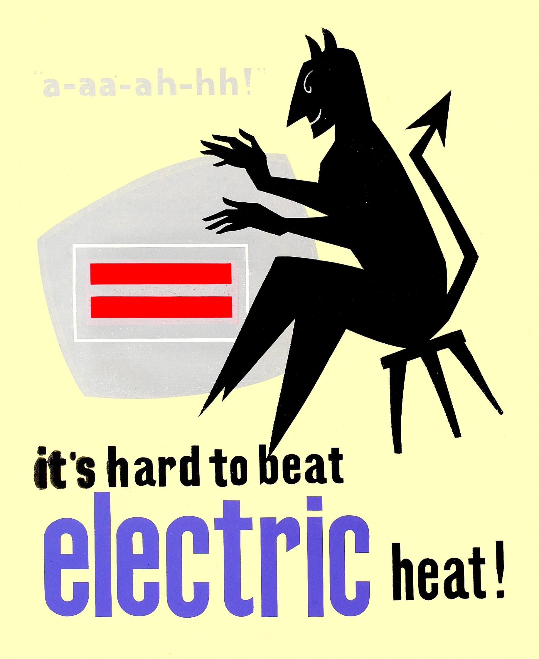 ESB print advert, late 1950s