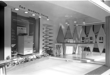 RDS home exhibit, 'For Modern Living', 1960s
