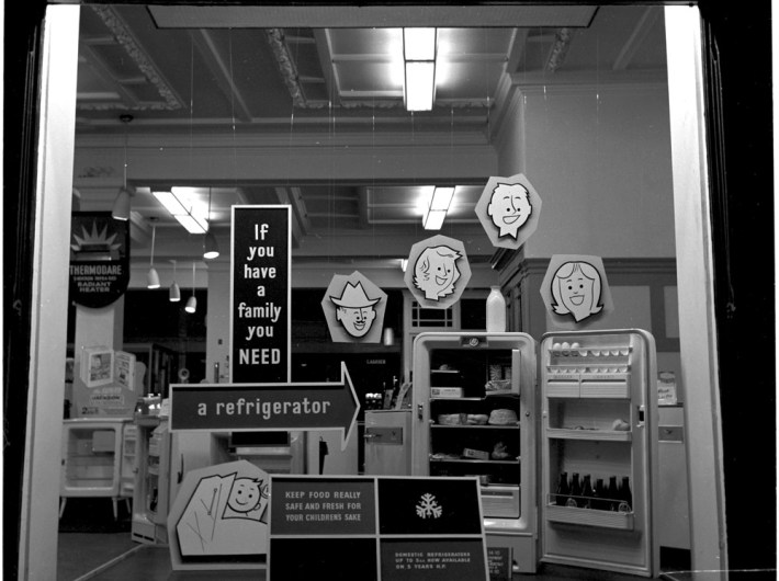 RDS refrigeration exhibit, 7 May 1960
