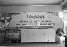 RDS water exhibit, 7 May 1960