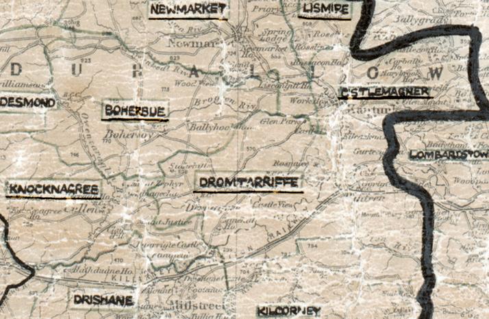Dromtarriffe-Map-cork