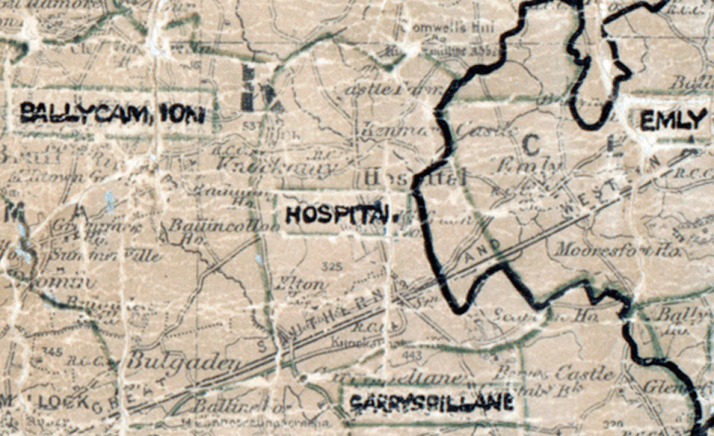 Hospital-map-limerick