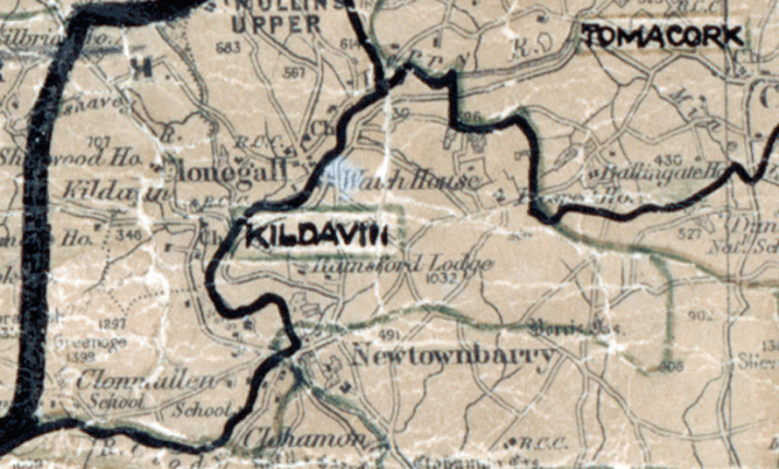 Kildavin-map-waterford
