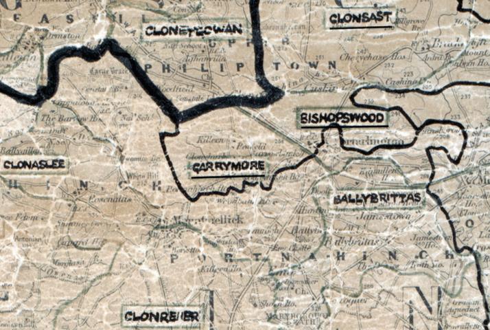 Garrymore-map -portlaoise