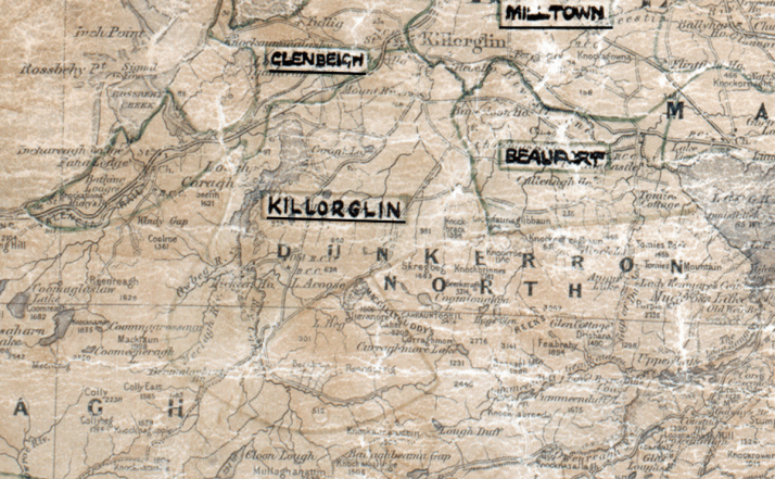 Kilorglin-Map-tralee