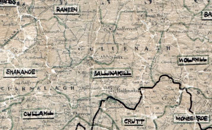 Ballinakill-Map-portlaoise