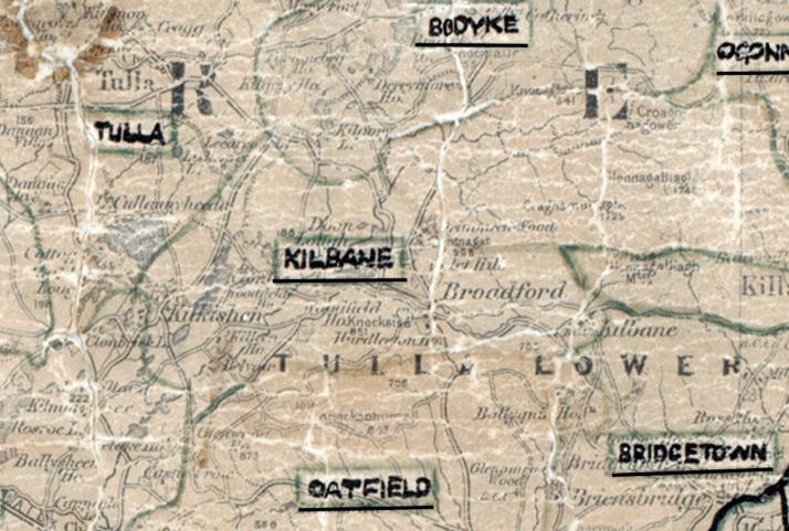 Kilbane-Map-limerick
