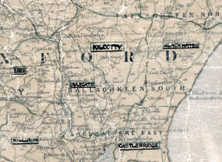 Kilcotty-Map-waterford