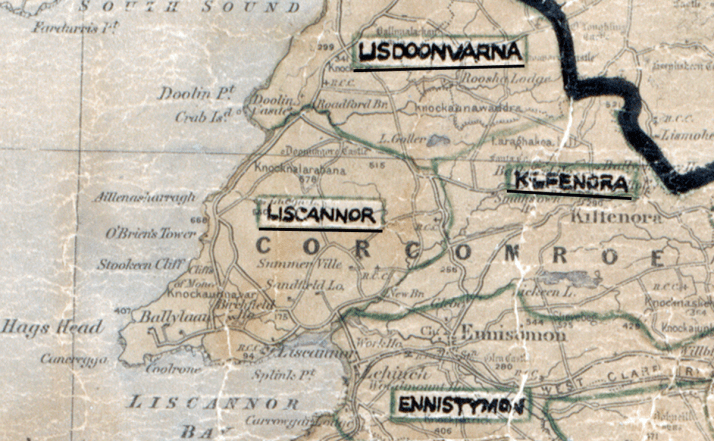 Liscannor-Map-limerick
