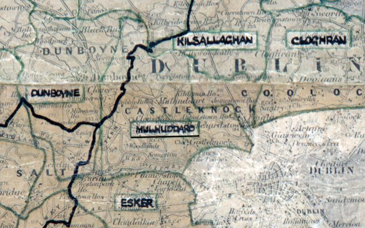 Mulhuddart-Map-dublin