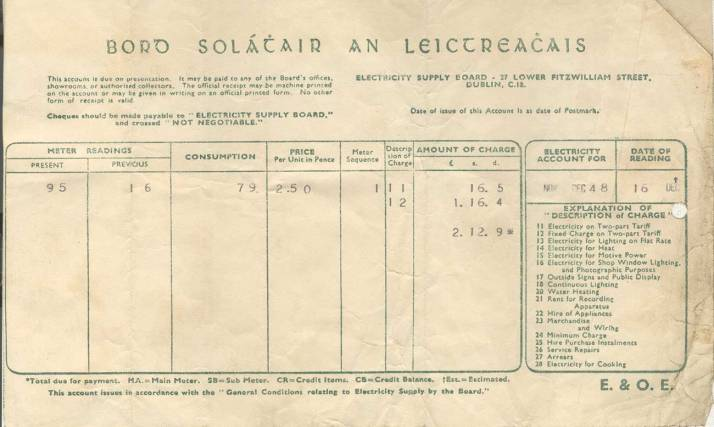 customers first ESB Bill 1948