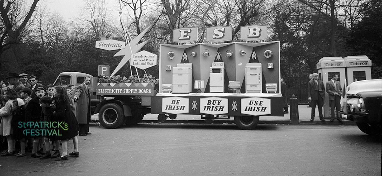 ESB on St Patrick's Day, 1950-1961