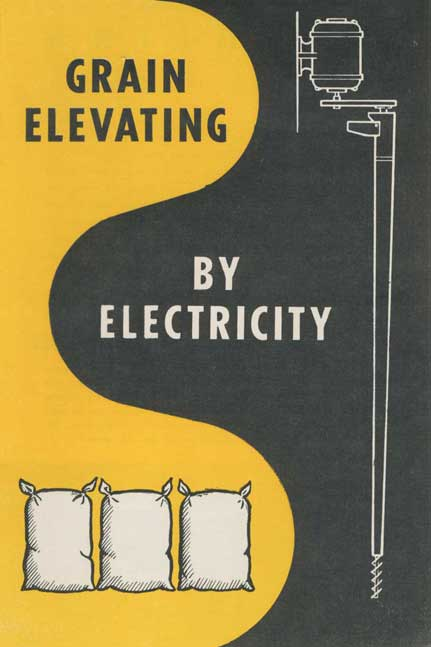 Grain elevating by electricity