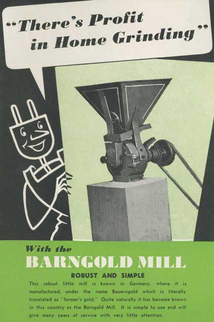 Home grinding with the Barngold Mill