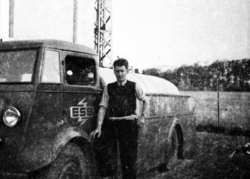 Corbett with ESB truck