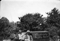 Rural gang including Corbett (middle)