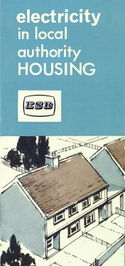 Electricity in Local Authority Housing, c1958, p 1