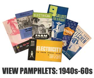 View pamphlets: 1940s-60s
