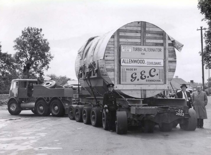 1952 Foden ZO 2603