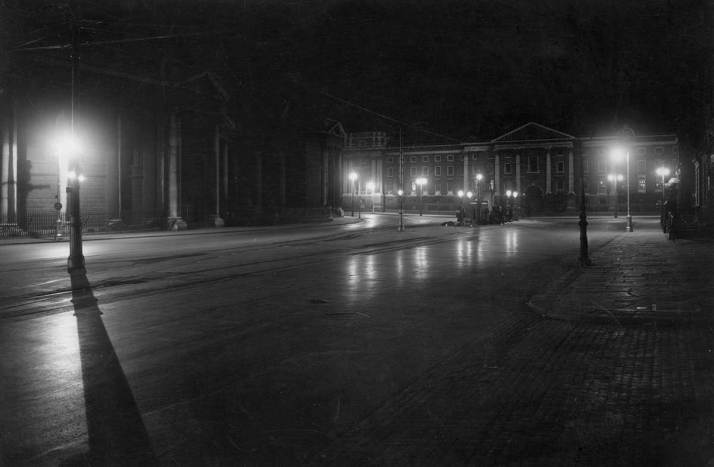 Trinity College at College Green 1938