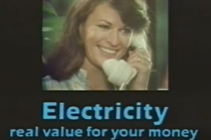 Electricity is Real Value for Your Money, Washing Machine, 1983