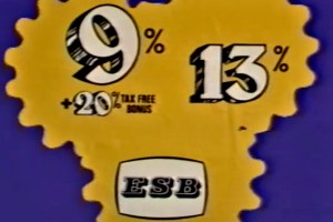 ESB Stock Issue Advertisement, 1977
