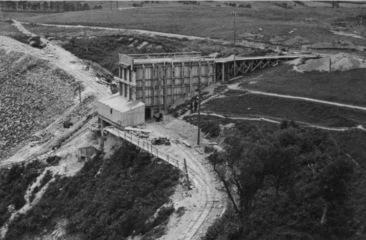 Poulaphouca Dam August 1940