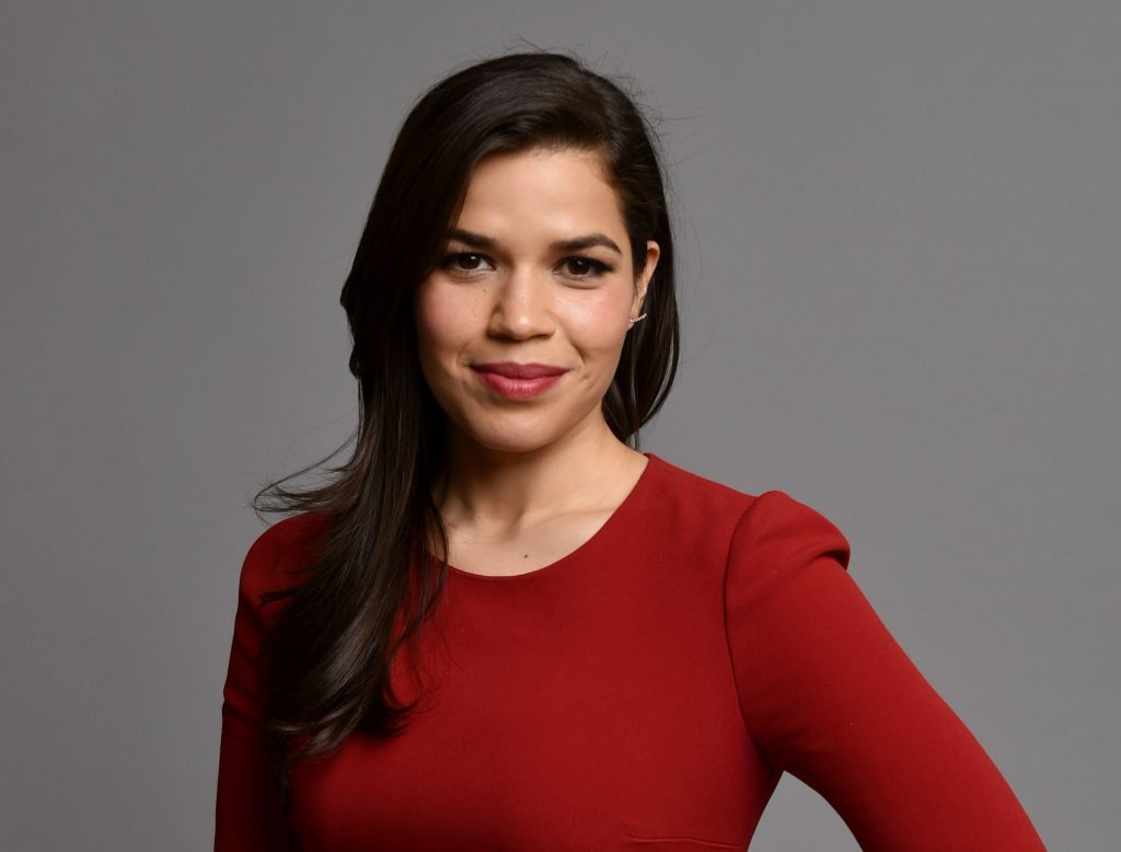 America Ferrera poses for a portrait during the 87th Academy Awards nominees luncheon at the Beverly Hilton Hotel on Monday, Feb. 2, 2015, in Beverly Hills, Calif. (Photo by John Shearer/Invision/AP)