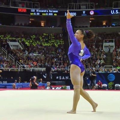 #Río2016: La nueva joya del equipo olímpico de gimnasia es latina