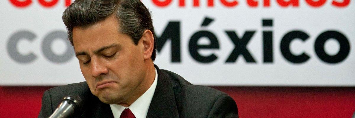 #SorryNotSorry: Peña Nieto pide perdón a los mexicanos