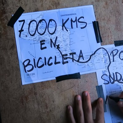 Juan Dual, en bici por Sudamérica
