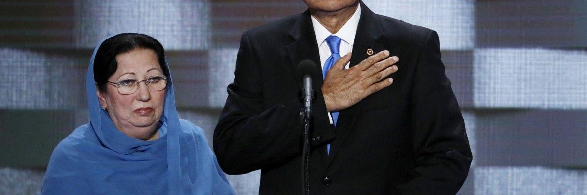 #Aislado: Trump fue demasiado lejos al insultar a la madre de un héroe