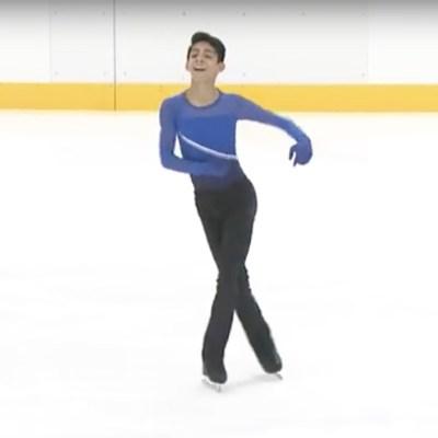 Donovan Carillo, el patinador mexicano que triunfa el ritmo de Juan Gabriel
