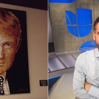 #ArteHorrendo: Cómo encontró Enrique Acevedo el infame retrato que Trump compró con dinero para caridad