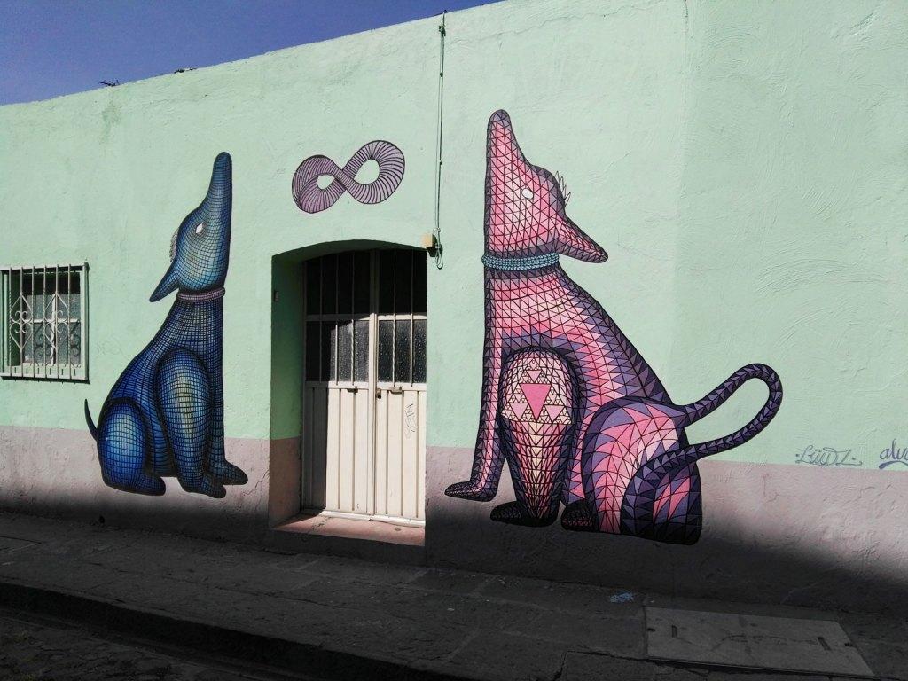 Los murales del Barrio de Xanenetla.