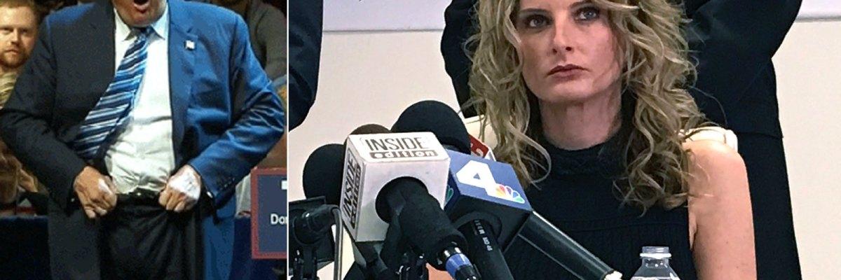 #AcosadorEnJefe: Trump comenzará su mandato acusado de abuso sexual