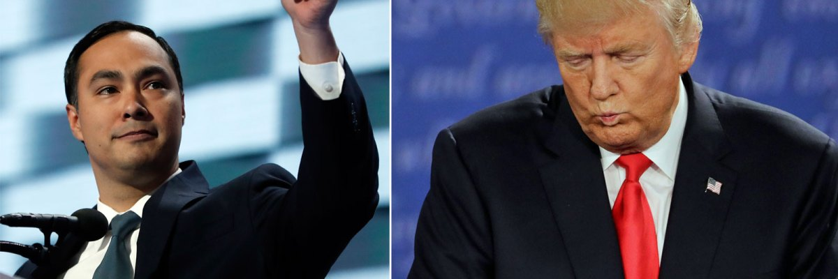 Joaquin Castro vs. Donald Trump
