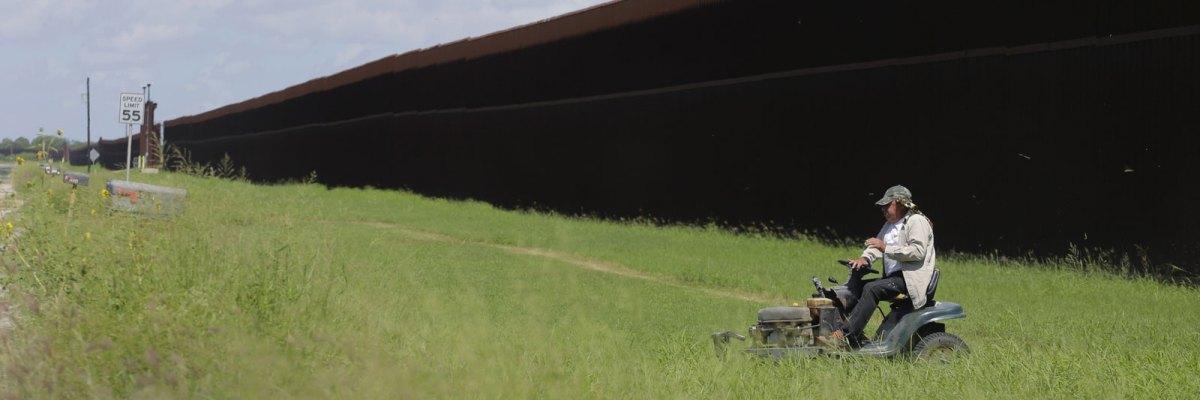 Barda Fronteriza en Brownsville, Texas
