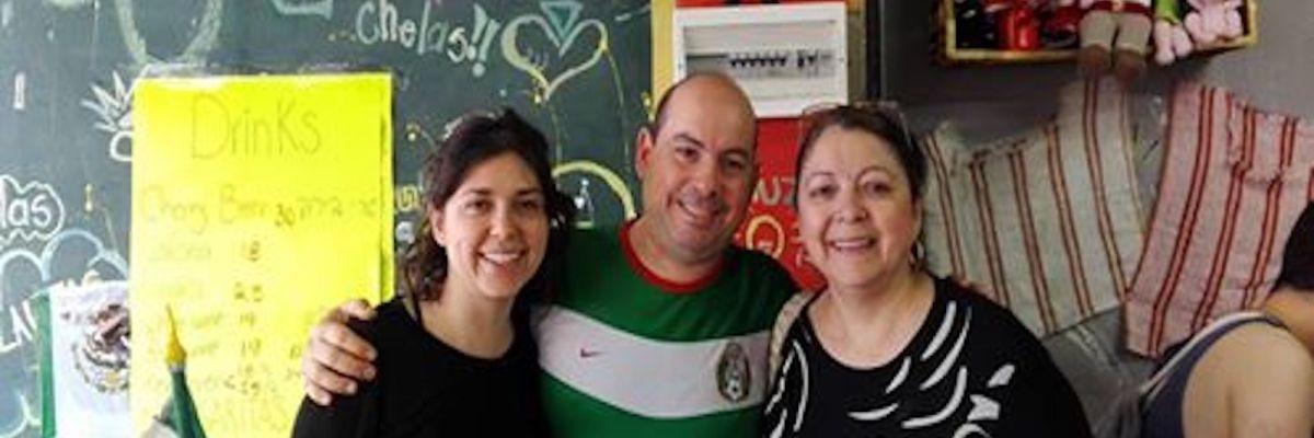Comida mexicana en Israel.