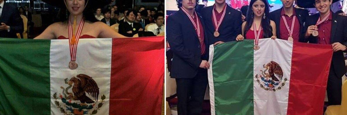 #Histórico: Ganan mexicanos cinco medallas en la Olimpiada de Física Indonesia 2017