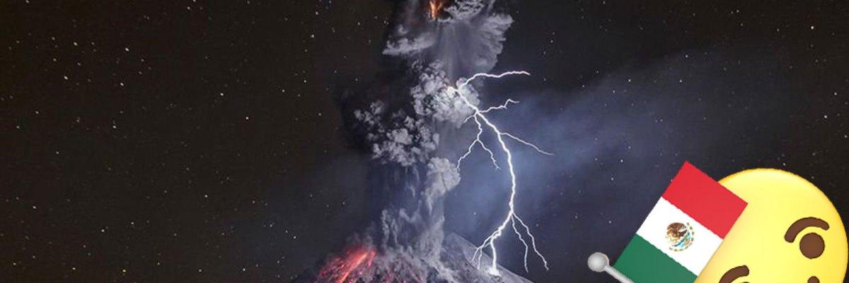 #Belleza: Esta increíble imagen del Volcán de Colima, ganó el premio a foto del año de NatGeo